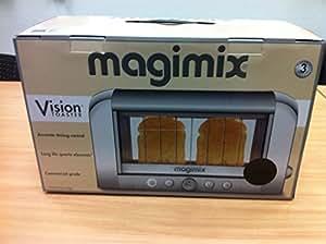 magimix 11529 magimix le toaster vision magimix le toaster vision grille pain noir. Black Bedroom Furniture Sets. Home Design Ideas