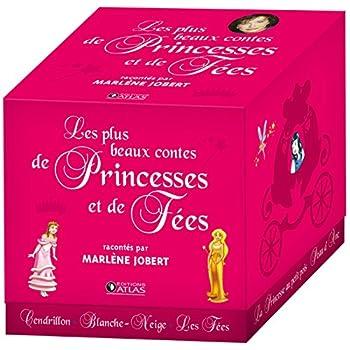 Les plus beaux contes de princesses et de fées: coffret