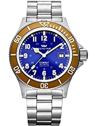 GLYCINE COMBAT SUB relojes hombre 3908.18AT-O MB
