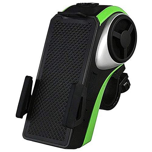 qiyanBluetooth V4.0, Altavoz, 4400 Mah Power Bank, luz de Bicicleta, Timbre de...