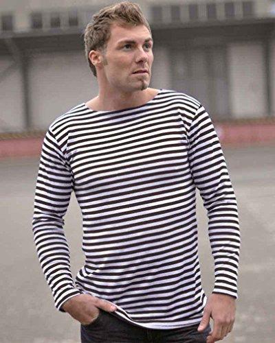 Russ. Marine Pullover gestreift So blau/weiß