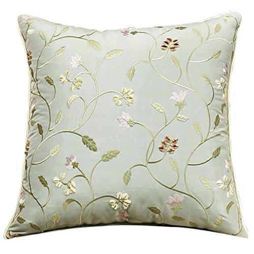 1c5f74d8b32b Nuevo Chino emulando la seda bordado almohada cojín almohada sofás de  estilo contemporáneo minimalista oficina de