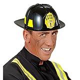 NET TOYS Elmo da Pompiere Elmetto Vigile del Fuoco - Casco Protettivo Pompieri Accessorio Costume Vigili del Fuoco Attrezzatura Capo Pompieri Armamento Capitano Pompieri