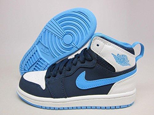 Jordan Schuhe Blau (Air Jordan 1 Retro High BP Schuhe Sneaker Neu Kids (EUR 29.5, Blau))