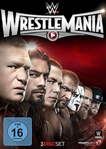 WWE - Wrestlemania XXXI [3 DVDs] - Wwe-wrestlemania