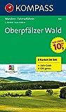 Oberpfälzer Wald: Wanderkarten-Set mit Aktiv Guide in der Schutzhülle. GPS-genau. 1:50000 (KOMPASS-Wanderkarten, Band 186) -