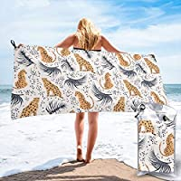 Socksforu Fast Quick Dry Towel,Sports & Beach Towel.Cheetah Suitable For Camping, Gym, Yoga,Swimming,Travel,Hiking,Backpacking.
