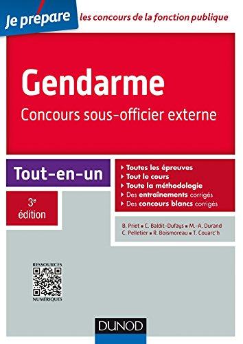 Gendarme - Concours sous-officier externe - 3e d. - Tout-en-un