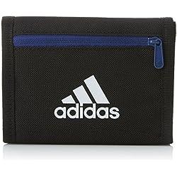adidas Real Wallet Cartera, Unisex adulto, Negro / Blanco, Talla Única