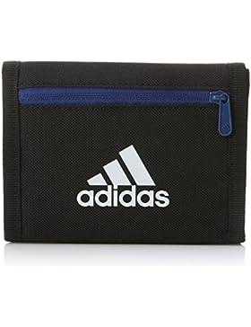 adidas Real Wallet Cartera, Unisex Adulto, Negro/Blanco, Talla Única