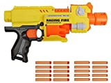 #7: RIANZ All New Imported Battery Operated Blaze Storm Semi automatic Machine Gun for Kids