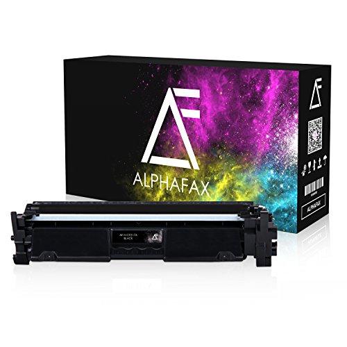 Preisvergleich Produktbild Alphafax Toner( MIT CHIP) kompatibel für HP CF217A 17A für HP LaserJet Pro M130FW M102W M130NW M102A M130FN M103A Laserdrucker