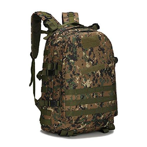 LF&F Military Pack Tarnung taktische Tasche Schultertasche wasserdichte Oxford Bergsteigen Tasche Outdoor Rucksack Sport Rucksack Camping Rucksack Wanderrucksack Multifunktions Großraum Rucksack I