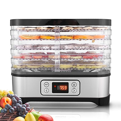 5-Tray Electric Food Dehydrator ...