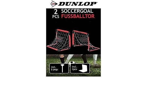 2 but de football DUNLOP cage foot