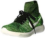 Nike Jr T90 Shoot Iv Ic - Zapatillas de fútbol de ante para niño, Negro / Lima / Verde (Black /...