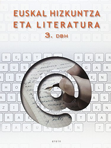 Euskal Hizkuntza eta Literatura DBH 3 - 9788497467285