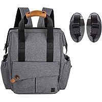 allcamp piezas bolso cambiador Bolsa de bolsa para pañales Baby funda Selección de Colores Azul