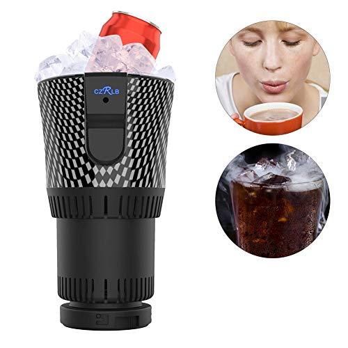 awhao Auto Getränkehalter, Auto Electric Car Cup Kühler/Wärmer 12V 3A Halbleiter Mini Kühlschrank Getränkehalter kühlen oder Heizen Getränkedosen Kaffee in Minuten Classy - Getränke Cup-kühler