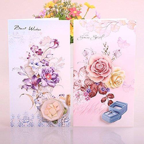 Grußkarten zum Muttertag, für Lehrertag, mit Umschlag, Geschenkkarten, 8 Stück