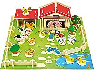 Compañía Pequeño Pie (smb5v) - 3489 - Edificio Juego - Granja