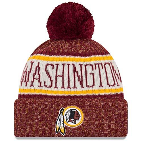 d8e31525 A NEW ERA Era Washington Redskins NFL On Field 18 Sport Knit Beanie Beany  Mütze