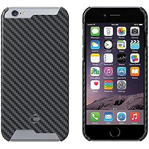 """t-carbon Handmade articolo Ultra Sottile Lusso 100% Vera pura fibra di carbonio per iPhone 6Cover + libero protezione dello schermo in vetro temperato con scatola regalo, iPhone 6 Plus 5.5"""" Matte"""