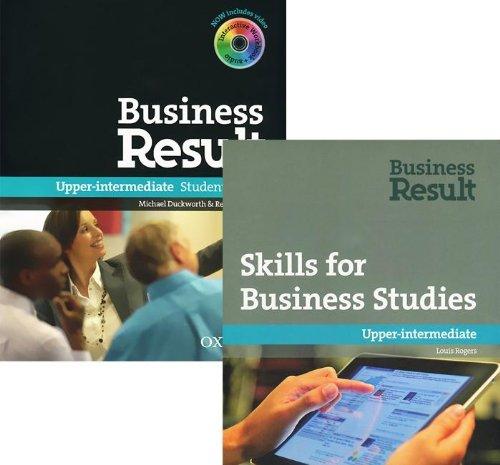 Business Result. Skills for Business Studies (komplekt iz 2 knig + DVD-ROM)