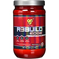 BSN REBUILD EDGE Post Workout Pulver (mit Aminosäuren: BCAA, Kreatin, Glutamin von BSN) fruit punch, 25 Portionen, 450g
