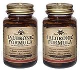 SOLGAR-IALURONIC FORMULA 2 CONFEZIONI DA 30 TAVOLETTE-contribuisce alla protezione delle cellule dallo stress ossidativo e alla normale formazione del collagene di pelle e cartilagine immagine