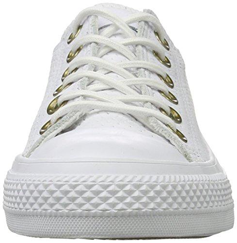 Converse Chuck Taylor All Star Ox, Sneaker Unisex – Adulto Bianco