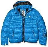 Peak Mountain Ecapti Doudoune Garçon, Bleu, FR : 16 Ans (Taille Fabricant : 16 Ans)