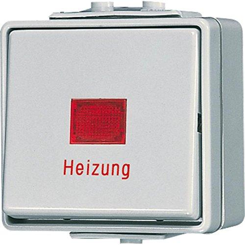 Preisvergleich Produktbild Jung 606 HW Heizungs-Notschalter offen WG600 AP IP44 Universal Aus-Wechsel