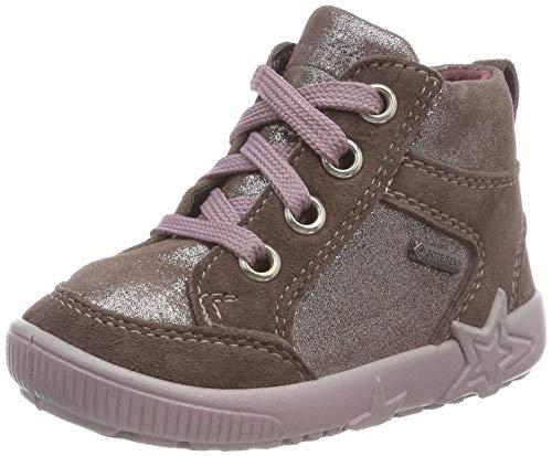 Superfit Baby Mädchen Starlight Sneaker, Braun (Lila 90), 24 EU