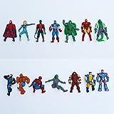 Marvel 10 Figurines super heros...