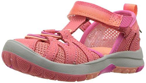 Merrell Girls' Hydro Monarch Junior 2.0 Sandal, Orange, 6 Wide US Toddler