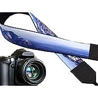 Kameragurt Mountain. Scenery Kamera Strap. Blau DSLR/slrcamera. Kamera Zubehör. Herren Geschenk von intepro. Code 00292