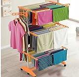 #5: LAKSHAY Premium Stainless Steel Cloth Rack