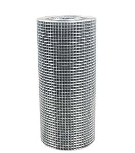 21324 Grillage soudé Carreau de 1,3cm² Rouleau de 1,22x15m