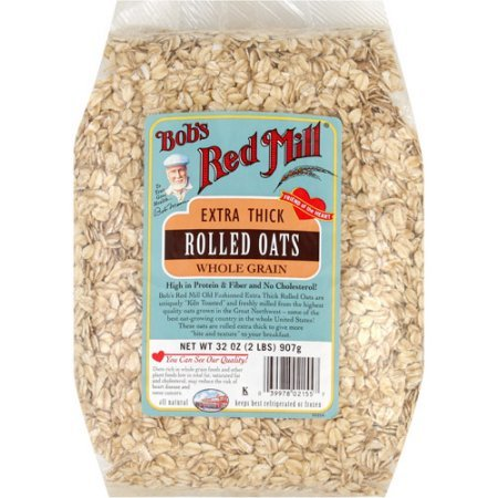 Extra Thick Rolled Oats (Whole Grain), 2LBS (907 g)