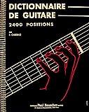 Partition : Dictionnaire de la guitare F. Chierici