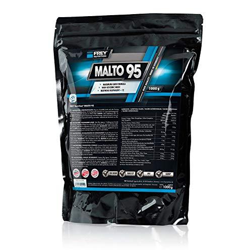 FREY Nutrition MALTO 95, Maltodextrin Pulver für den Muskelaufbau (1 Beutel - 1000 g) - Gewicht-verlust-nahrungsergänzungsmittel