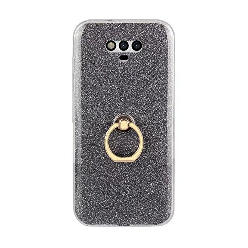 EKINHUI Case Cover Soft Flexible TPU Back Cover Case Shockproof Schutzhülle mit Bling Glitter Sparkles und Kickstand für Huawei Hornor Magic ( Color : White ) Blue
