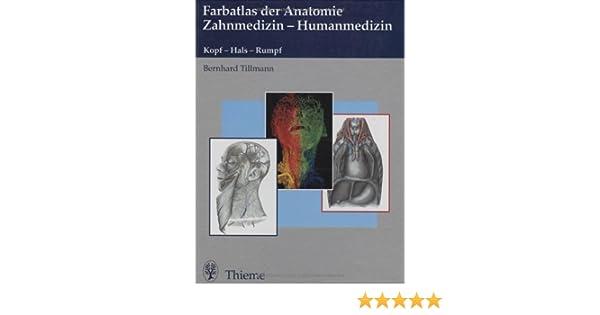 Farbatlas der Anatomie für Zahnmediziner: Amazon.de: Bernhard ...