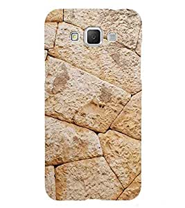 Fiobs Designer Phone Back Case Cover Samsung Galaxy Grand Max G720 ( Stone Type Pattern Design )