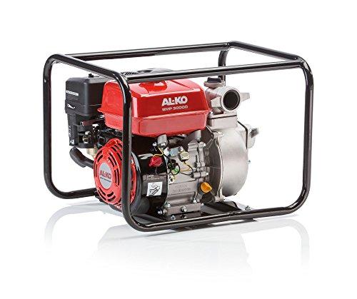 AL-KO 113563 Benzinwasserpumpe BMP 30000, Stromunabhängig Wasser pumpen, Motorleistung 4,1 KW, mobile und flexible Bewässerung (Flexible Wasser)