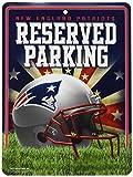 Unbekannt NFL Abonnements Metall Parken Schild, New England Patriots, S