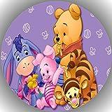 Fondant Tortenaufleger Tortenbild Geburtstag Winnie Pooh P10