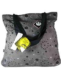 Grand sac gris bandoulière etrangenoël mr jack 239016jf
