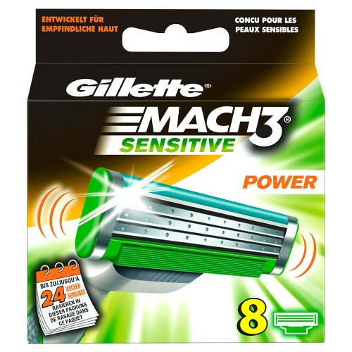 gillette-mach3-sensitive-power-lame-8-pezzi